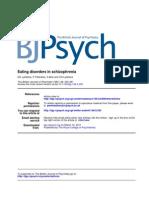 eating disorders in schizoprenia