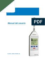 Manual - Sonómetro SC101