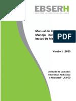 MANUAL UCIPED 012 Erros Inatos do Metabolismo EIM Versão 1