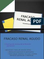 FRACASO RENAL AGUDO