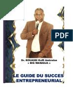 Livre Les Enjeux de l'Entrepreneuriat