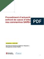 Procediment d'actuació coronavirus