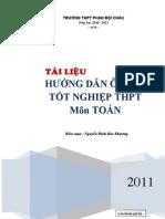 Tai Lieu on Thi TNTHPT2011