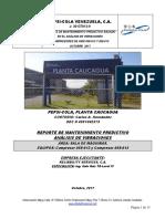 Reporte Tecnico Vibraciones Sala de Maquinas Comps 058-012 y 058-013 PEPSICOLA PLANTA CAUCAGUA Octubre 2017