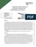 articulo8 revita venenzolana en educacion relacion entre teoria practica