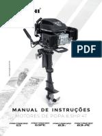Manual Motor de Popa G3, G3PE e G3N