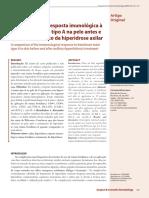 v1 Comparacao Da Resposta Imunologica a Toxina Botulinica Tipo a Na Pele Antes e Apos o Tratamento Da Hiperidrose Axilar