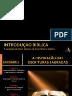 Introdução Bíblica - AULA 2
