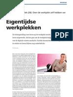 Seats2meet.com in HRD magazine - Eigentijdse Werkplekken