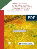 ESTRATTO Studio Epidemologico LESIONI PDF