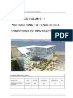 Vol. I - Tender and Conditions of Contract