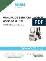 Unicarrier 1f1 1f2 k21 k25 Engine Service Manual Sp