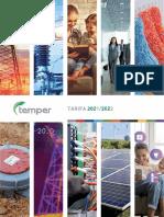 202106 TEMPER TARIFA 2021-2022