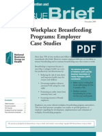 Workplace Breastfeeding