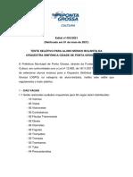 Edital OSPG 2021