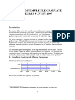 BYU Joint Degree Survey 2007