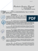 RER 345-2016 13-09-2016 DIRECTIVA N° 003-2016 RECEPCION Y TRANSFERENCIA OBRAS GRM