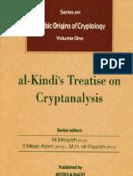 Arabic Origins of Cryptology  Vol. 1