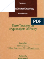 Arabic Origins of Cryptology Vol. 5