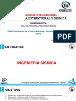 comparacion normas sismicas boliviana y peruana