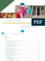 Processo Europeu Ações Pequeno Montante