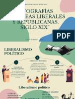 """Infografías """"Las Ideas Liberales y Republicanas. Siglo Xix"""""""