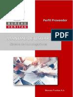 MANUAL DE USUARIO - PROVEEDOR