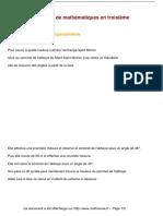 Exercices Mont Saint Michel Et Trigonometrie Maths Troisieme 1264