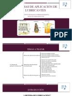 Sistemas de aplicación de lubricantes