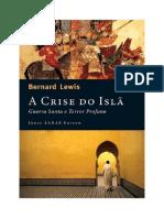 A Crise do Islã - Guerra Santa e Terror Profano - Bernard Lewis
