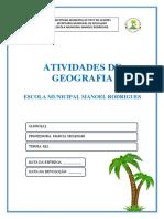Apostila 10 - EJA - Geografia - Coqueiros