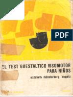 Koppitz - Test Guestáltico Visomotor Para Niños