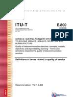 ITU-T E.800