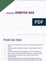 9)TEORI KINETIK GAS