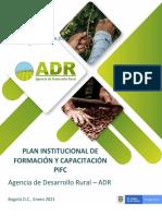 4. PLAN INSTITUCIONAL DE CAPACITACIÓN ADR 2021 - Enero 28 (3)