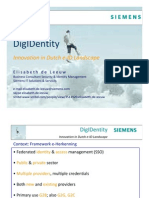 DigIDentity - Innovation in Dutch e-ID Landscape
