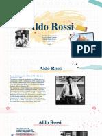 Aldo Rossi Presentación