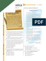 evaluacion diagnositca U1 lengua castellana