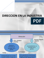 Empresa Industrial, Etica, Liderazgo y mucho mas