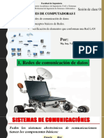 Sesión 01_Redes comunicación datos. Conceptos básicos Redes. Verificación Elementos Red LAN (Teoría)