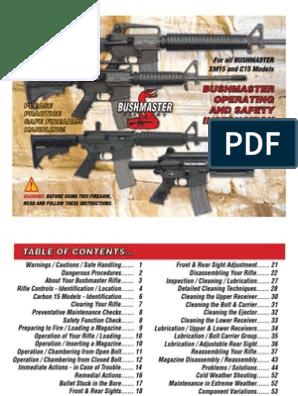 opmanual | Cartridge (Firearms) | Magazine (Firearms)