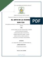 Estructura de Monografía Del Libro El Arte de La Guerra Sun Tzu (1)