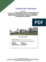 Informe Geologia y Geotecnia