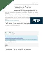 Chap 3  Introduction à Python suite 2