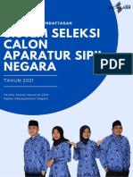 Buku Pendaftaran Seleksi Pppk Guru 2021