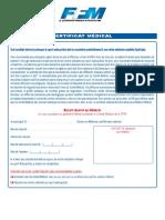 Certificat Medical 4