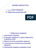 VI. RATIONAREA DEDUCTIVA
