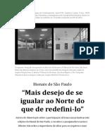 RIBEIRO - Entrevista Contemporary and C and Americ
