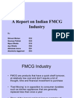 A Report on Indian FMCG Industry