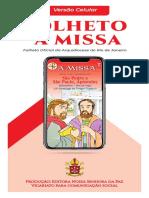 A Missa - Ano B - nº 42 - 14º DTC - Solenidade São Pedro e São Paulo - CELULAR - 04.07.21